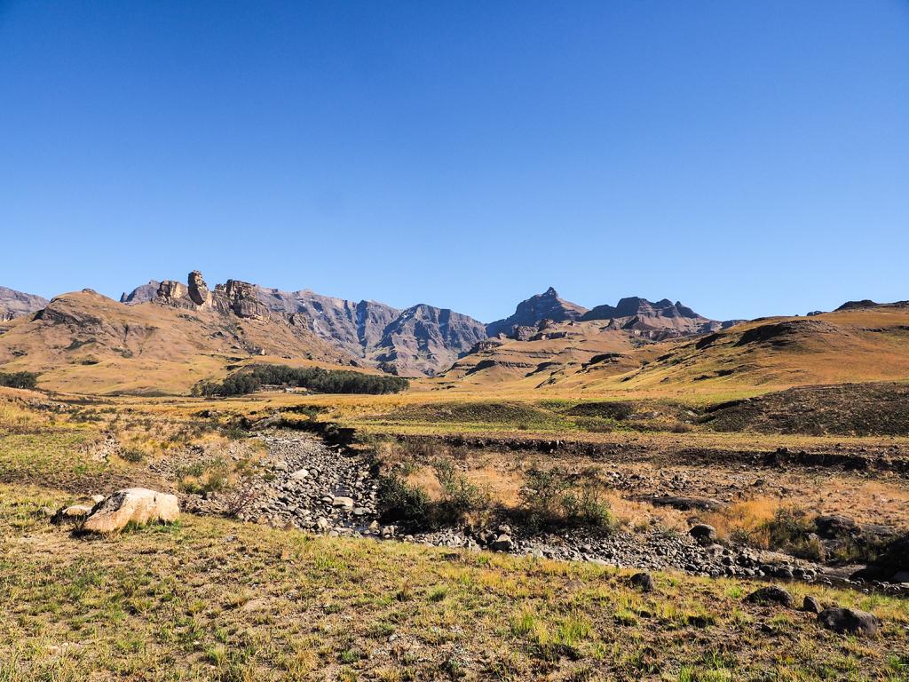 Drakensberge-tour-route