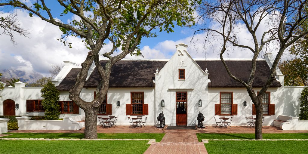 cape dutch style house classic south africa