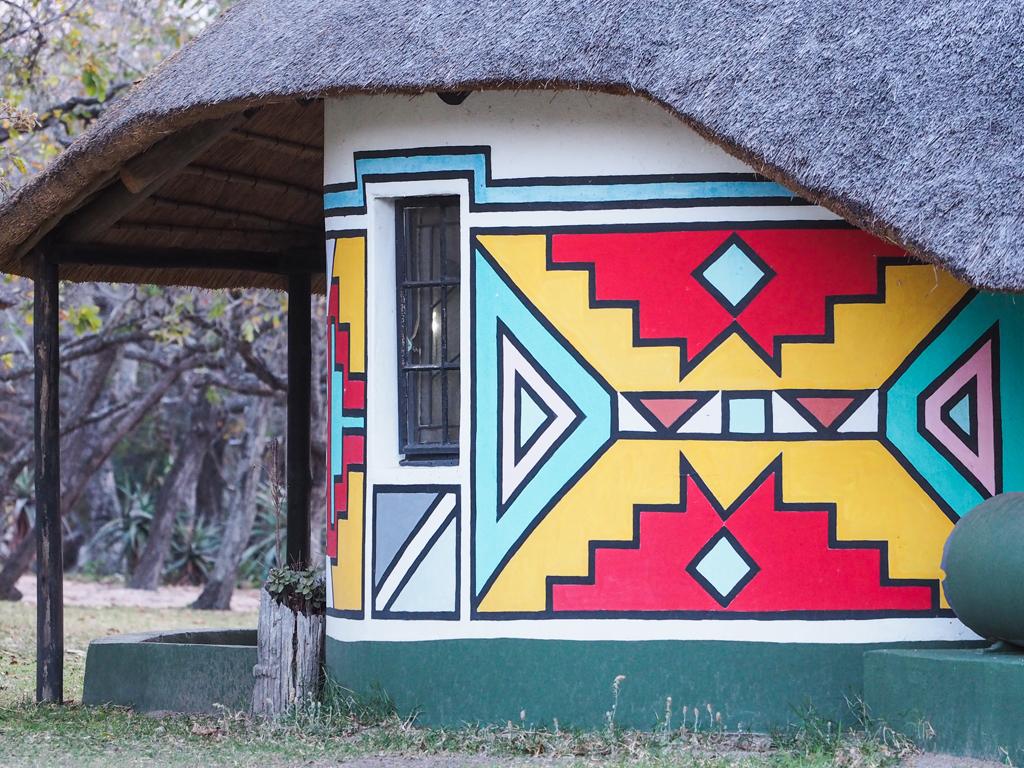 roundavel traditional form zulu ndebele