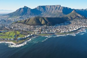 table mountain helicopter flight